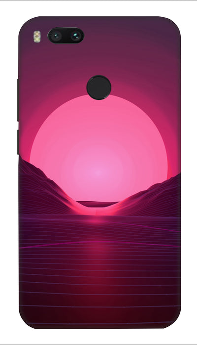 Sunrise Hard Case For Mi A1