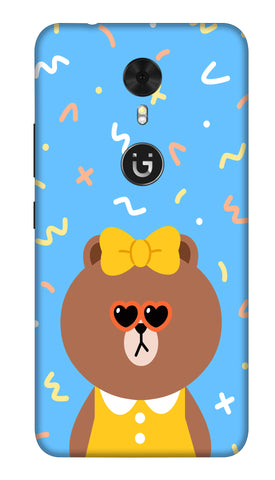 Cute Teddy Hard Case For Gionee A1