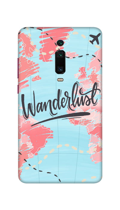 Wander lust Hard Case For Mi Redmi K20