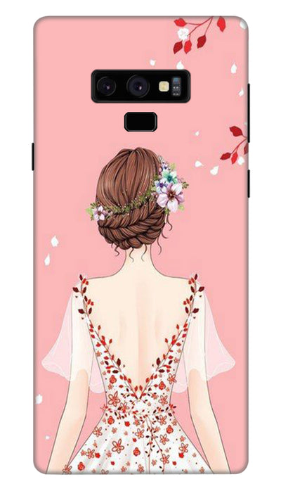 Pretty girl Hard Case For Samsung Note 9