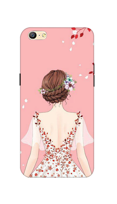 Pretty girl Hard Case For Oppo A57