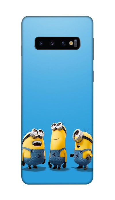 Trio minion Hard Case For Samsung S10