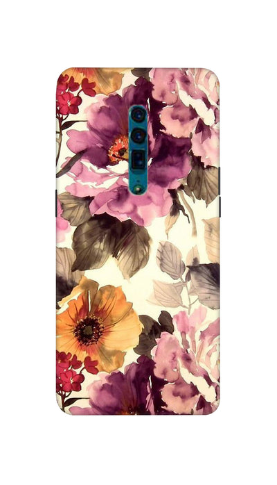 Spring flower Hard Case For Oppo Reno