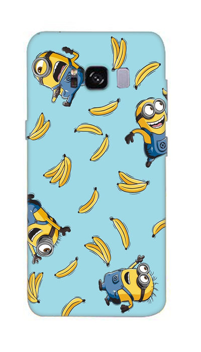 Funny minion Hard Case For Samsung S8