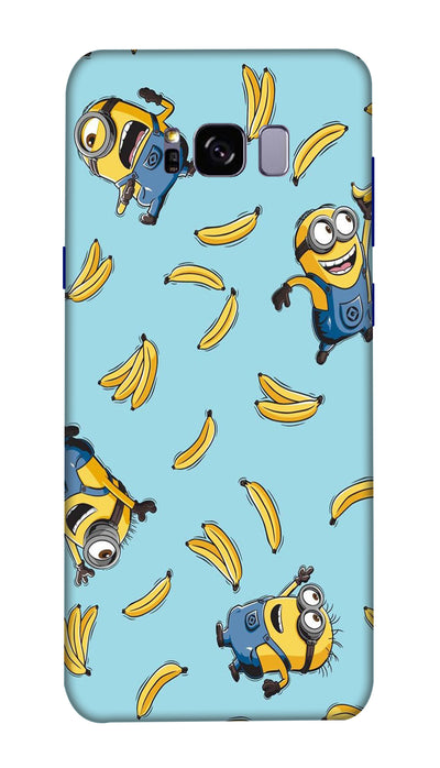 Funny minion Hard Case For Samsung S8 Plus