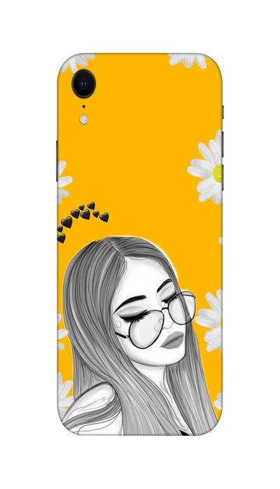Sleepy girl Hard Case For Apple iPhone XR