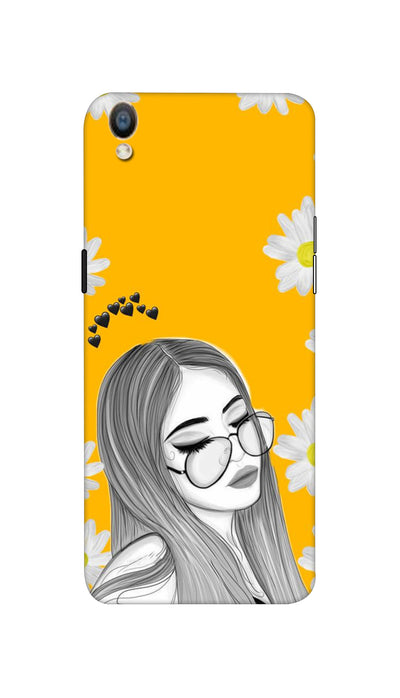 Sleepy girl Hard Case For Oppo F1 Plus