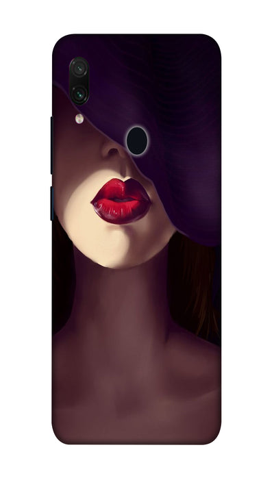 Hat girl Hard Case For Redmi Note 7