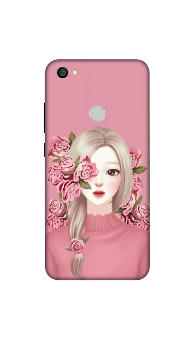 Roses & girl Hard Case For Redmi Y1