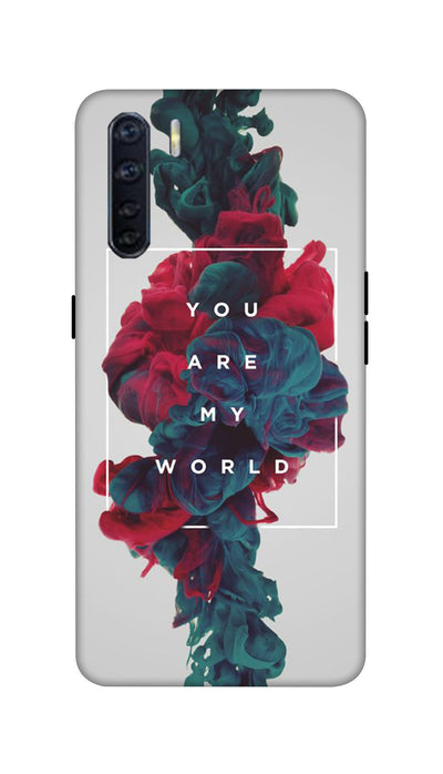 My world Hard Case For Oppo F15