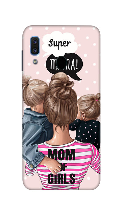 Girl Mom Hard Case For Samsung A30