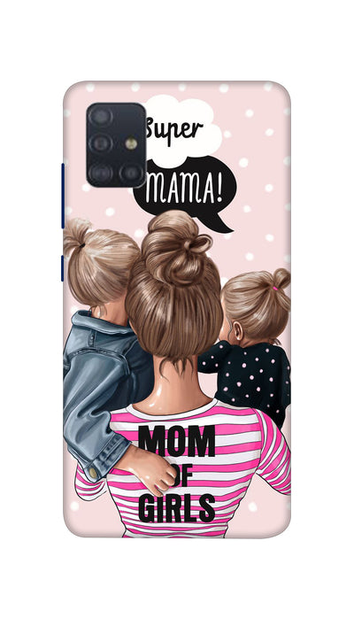 Girl Mom Hard Case For Samsung A51