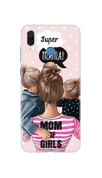 Girl Mom Hard Case For Honor Play