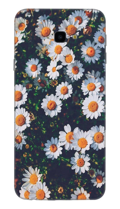 White flowers N Hard Case For Samsung J4 Plus