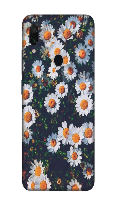 White flowers N Hard Case For Redmi Note 7 Pro