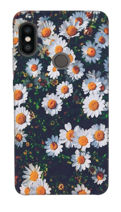 White flowers N Hard Case For Redmi Note 5 Pro