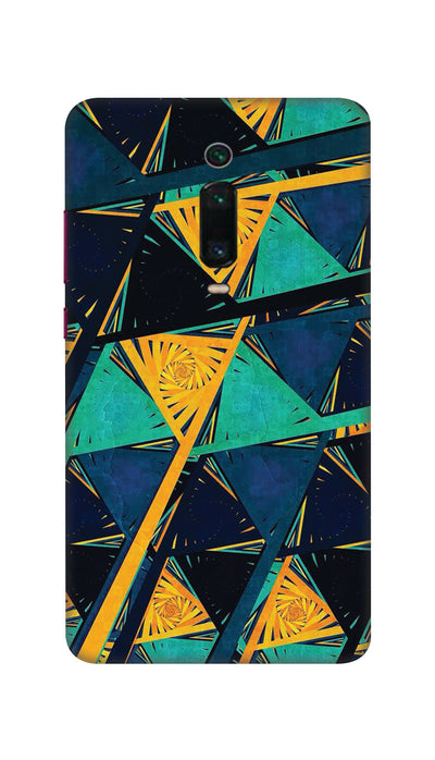 Triangles Hard Case For Mi Redmi K20