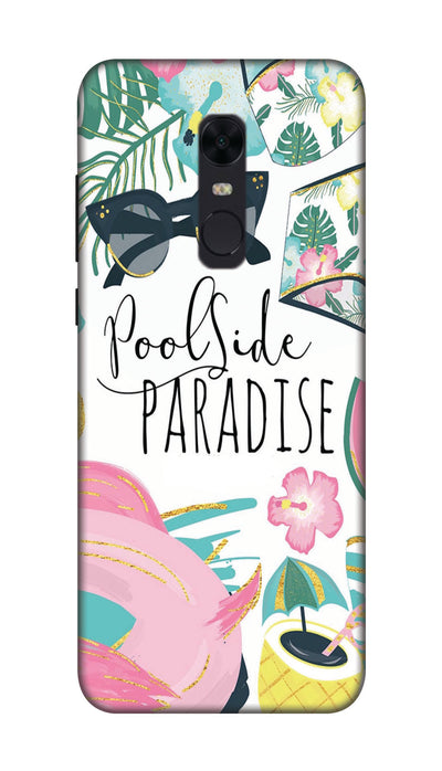 Paradise Hard Case For Redmi Note 5