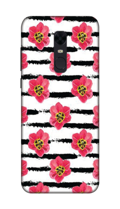 Red flowers Hard Case For Redmi Note 5
