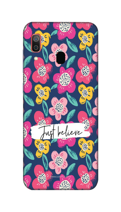 Just believe Hard Case For Samsung M20