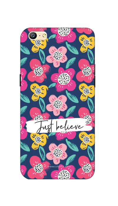 Just believe Hard Case For Oppo A57