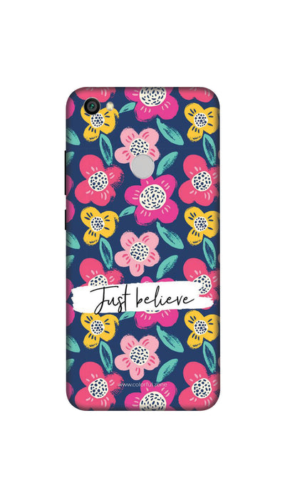 Just believe Hard Case For Redmi Y1