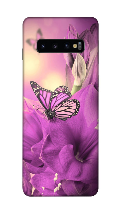 Purple fly Hard Case For Samsung S10 Plus