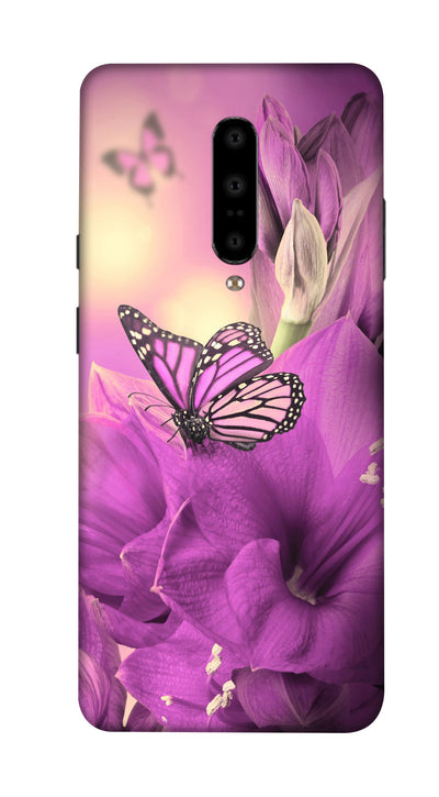 Purple fly Hard Case For OnePlus 7
