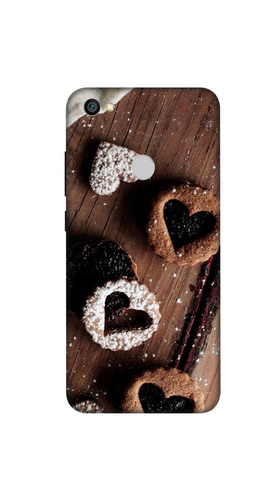 Chocolate heart Hard Case For Redmi Y1