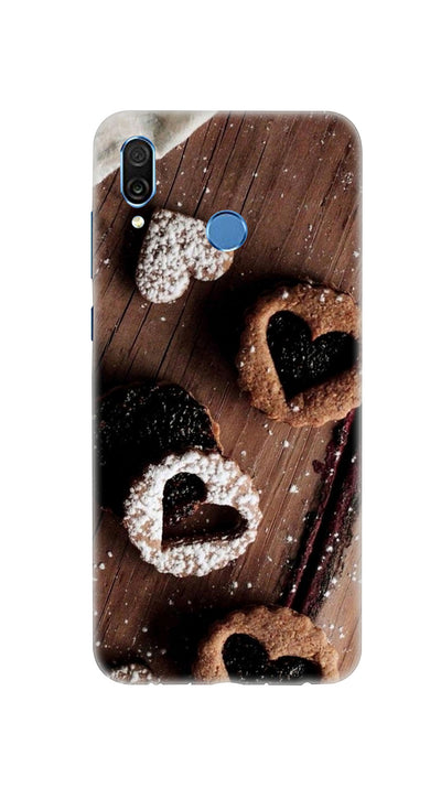 Chocolate heart Hard Case For Honor Play