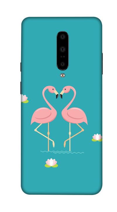 Twin swan Hard Case For OnePlus 7