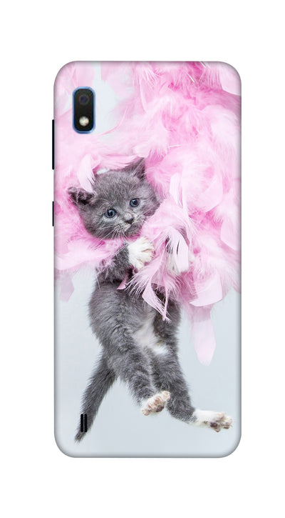 Hanging cat Hard Case For Samsung A10