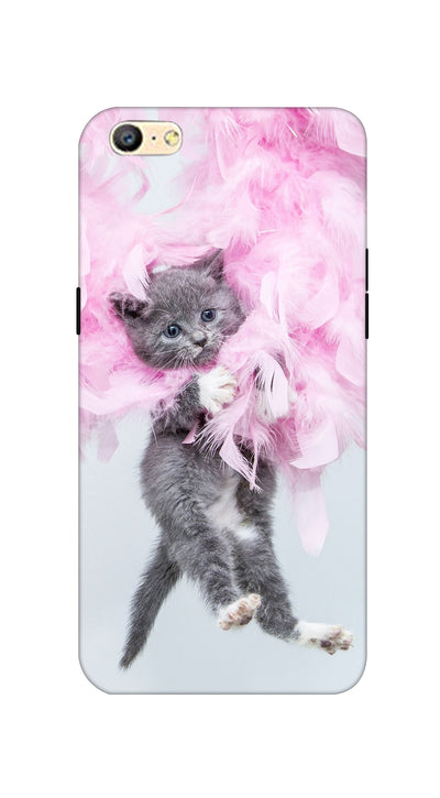Hanging cat Hard Case For Oppo A57
