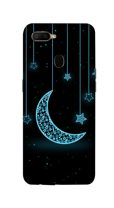 Moon & stars Hard Case For Oppo A5S