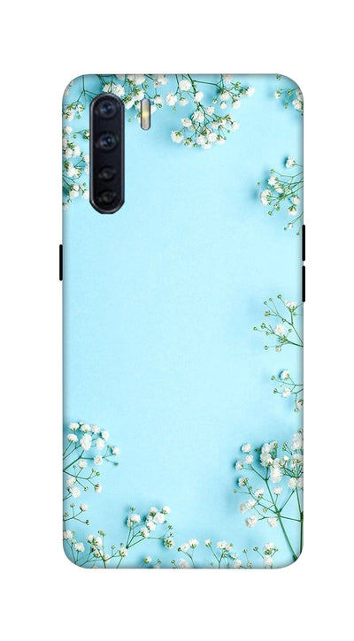 Bluish design Hard Case For Oppo F15