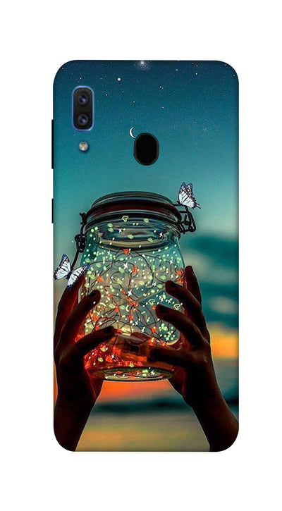 Light jar Hard Case For Samsung A30