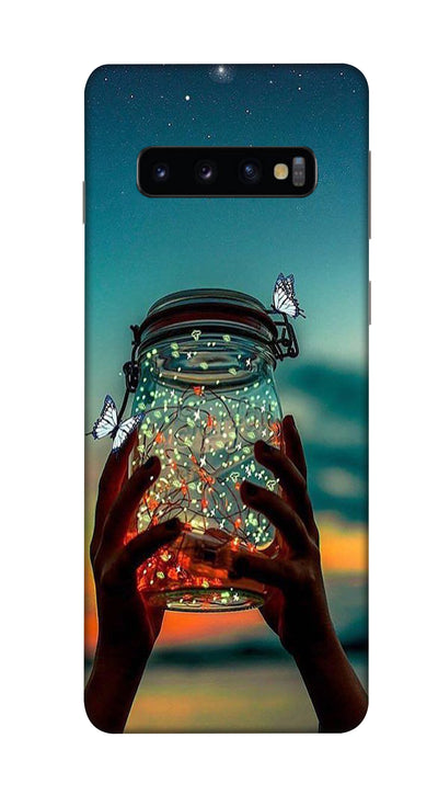 Light jar Hard Case For Samsung S10