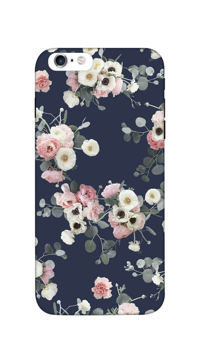 Pink & white roses Hard Case For iPhone 6S Plus