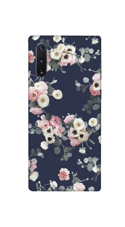 Pink & white roses Hard Case For Samsung Note 10