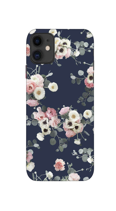 Pink & white roses Hard Case For Apple iPhone 11