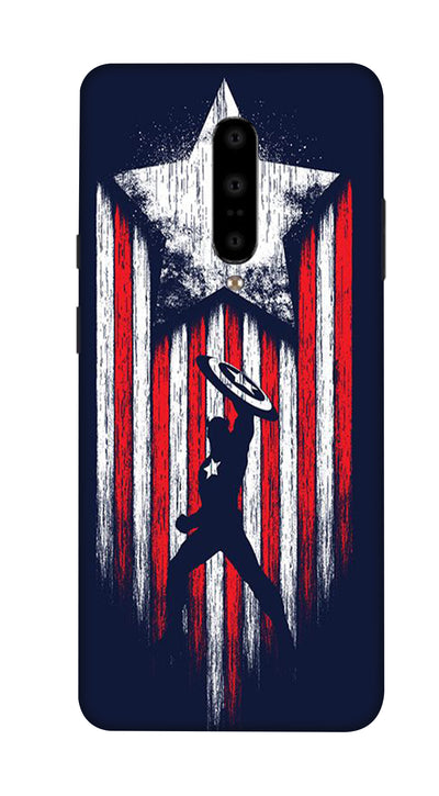 Captain America Hard Case For OnePlus 7