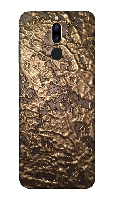 Golden brown patches Hard Case For Honor 9i