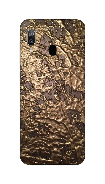 Golden brown patches Hard Case For Samsung M20