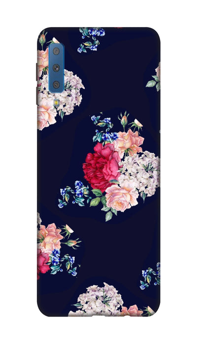 Flowers print Hard Case For Samsung A7