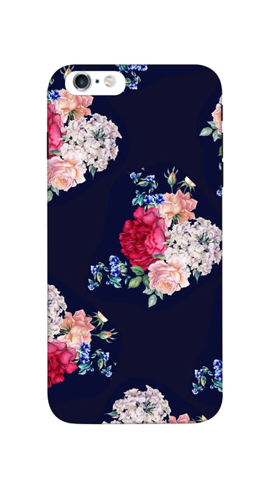 Flowers print Hard Case For iPhone 6S Plus