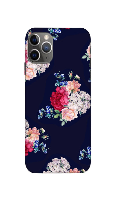 Flowers print Hard Case For Apple iPhone 11 Pro