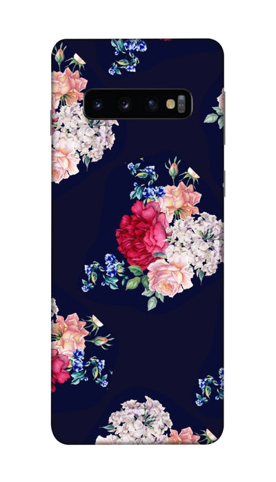 Flowers print Hard Case For Samsung S10 Plus