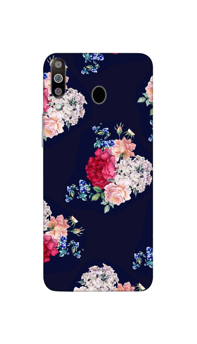 Flowers print Hard Case For Samsung M30