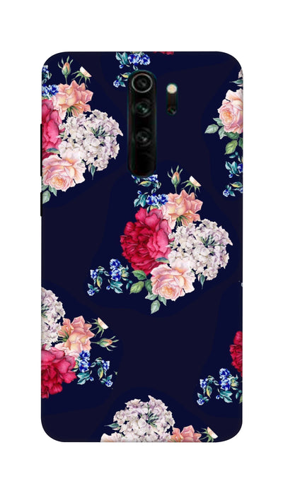 Flowers print Hard Case For Mi Redmi Note 8 Pro