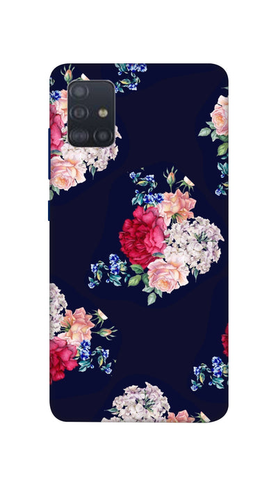 Flowers print Hard Case For Samsung A51
